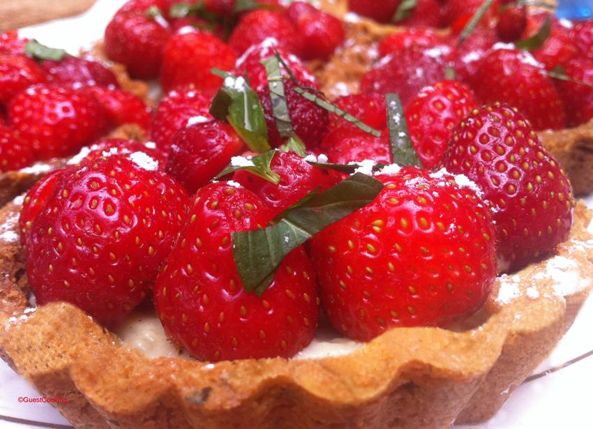 la meilleure tarte aux fraises maison chef mumu guestcooking cours de cuisine